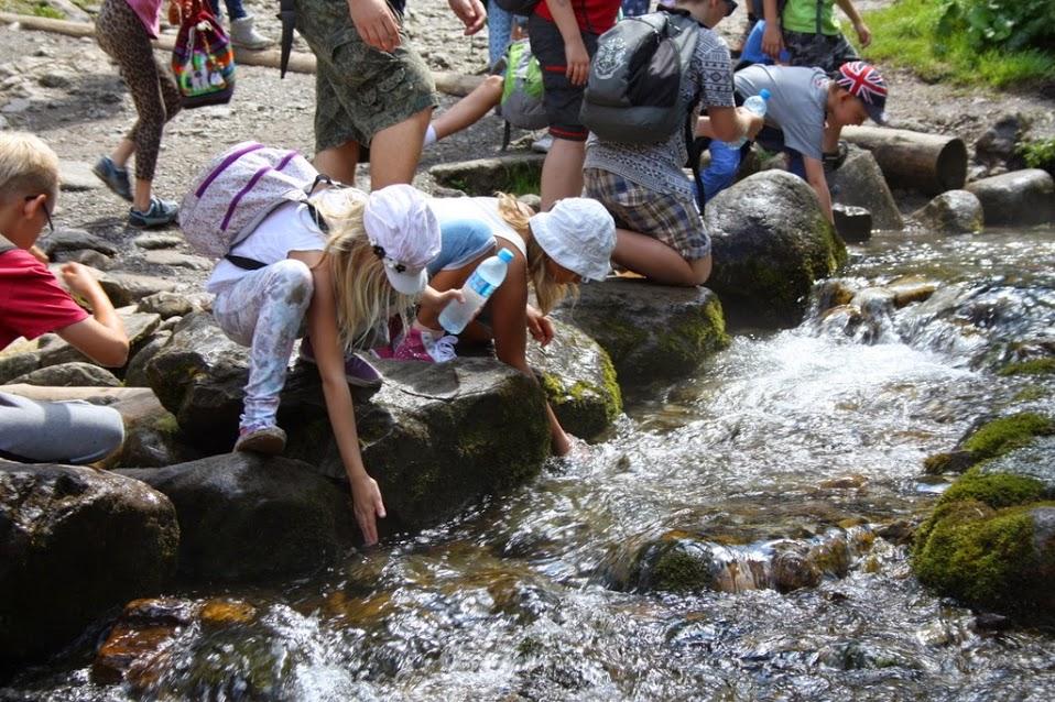 Wycieczka do Tatrzańskiego Parku Narodowego była podobno niezłym wyzwaniem nawet dla najstarszych dzieci.