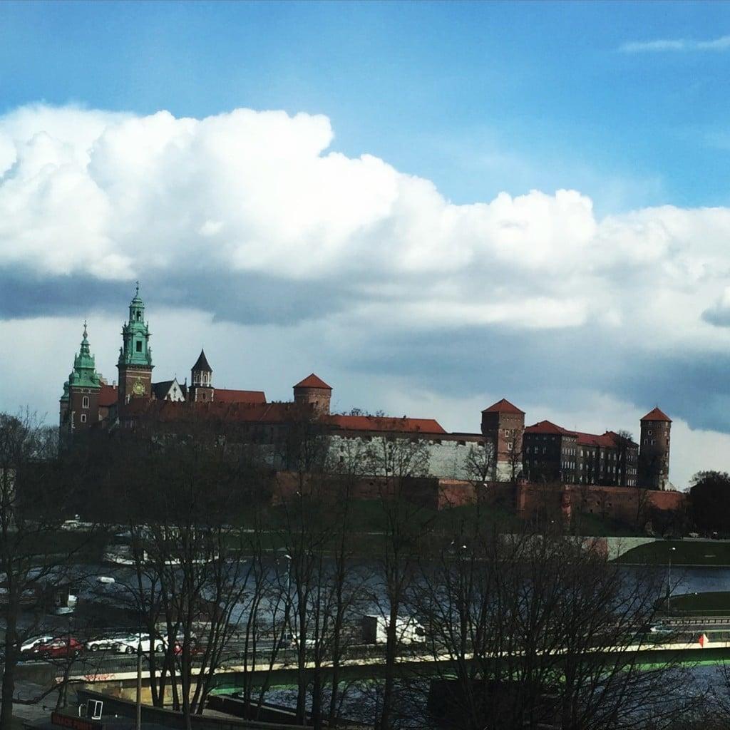 Widok z naszego hotelowego okna :)