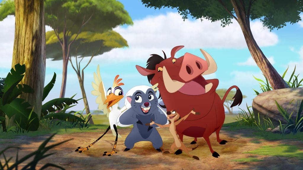 "LION GUARD - ""The Rise of Makuu"" - When a crocodile named Makuu takes over as leader of the crocodiles and his aggressive antics send the Pride Lands into chaos, Kion questions whether to intervene or respect animal traditions. Blair Underwood (ABC's ""Marvel's Agents of S.H.I.E.L.D."") guest stars as Makuu. A full-length preview of the episode ""The Rise of Makuu"" will be available on WATCHDisneyJunior.com, the WATCH Disney Junior app and iTunes on Monday, December 14.(Disney Junior) ONO, BUNGA, PUMBA"