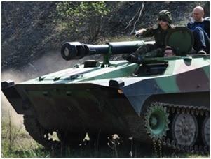 przejażdzka czołgiem